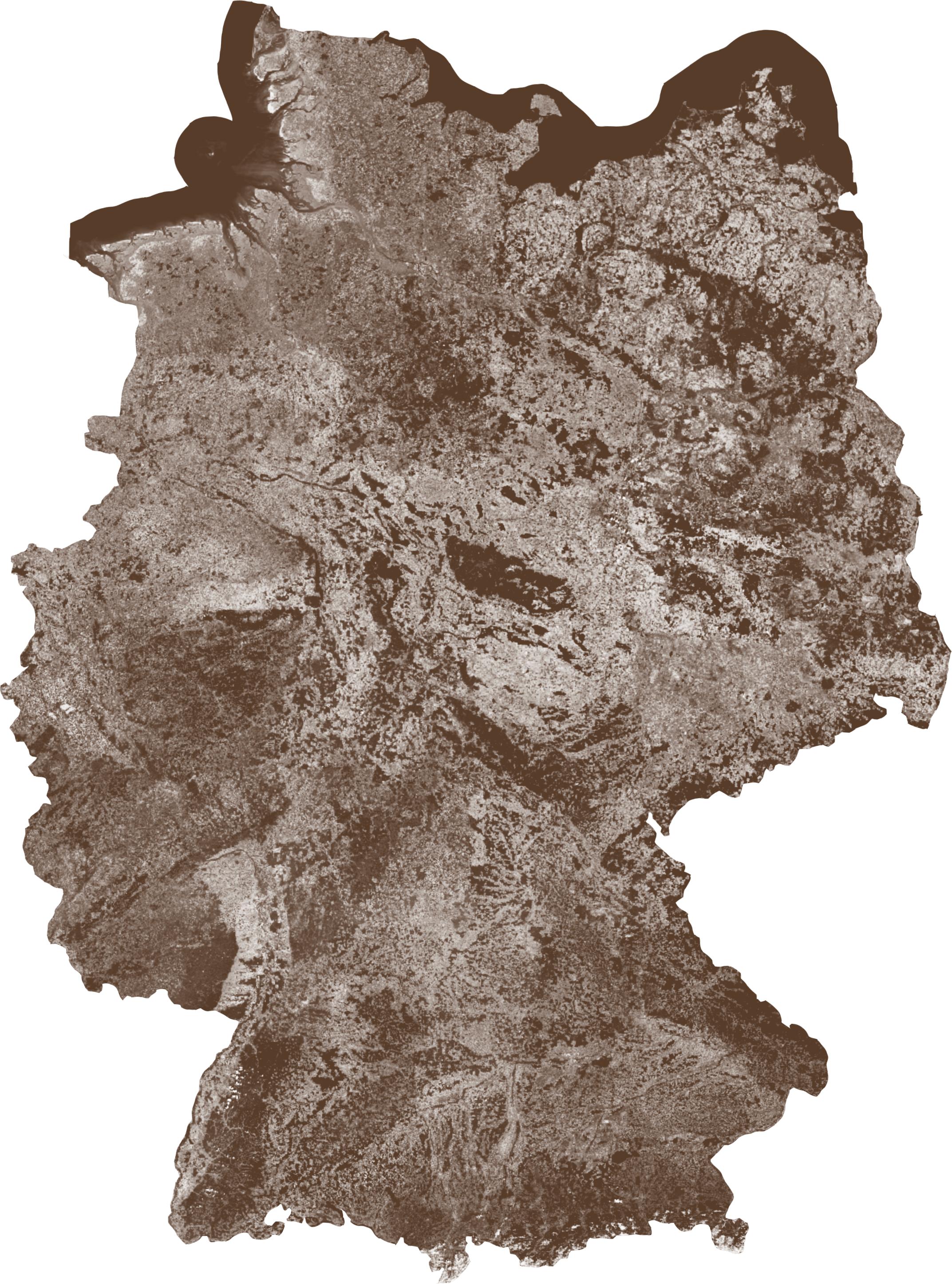 Deutschland [Kartenabbildung]